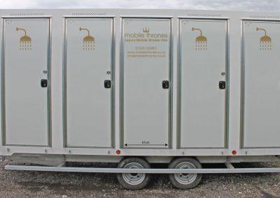 Mobile Shower Units