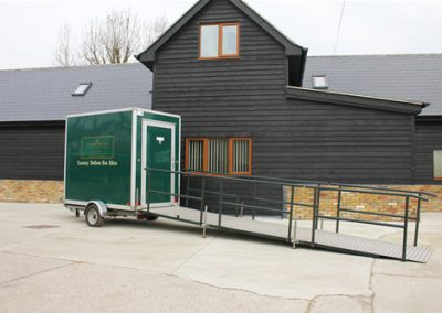 Luxury Mobile Disabled Toilet Exterior 2