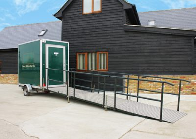 Luxury Mobile Disabled Toilet Exterior
