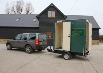 Mini Deluxe Green Mobile Toilet Unit
