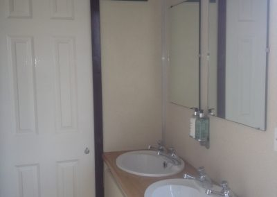 Large Luxury Blue Mobile Toilet Unit 2