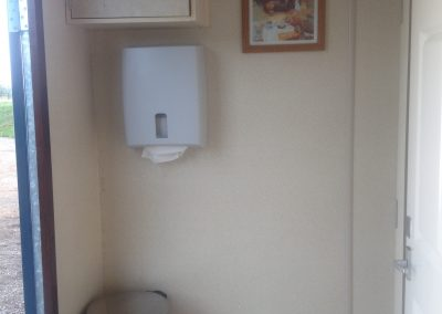 Large Luxury Blue Mobile Toilet Unit 3
