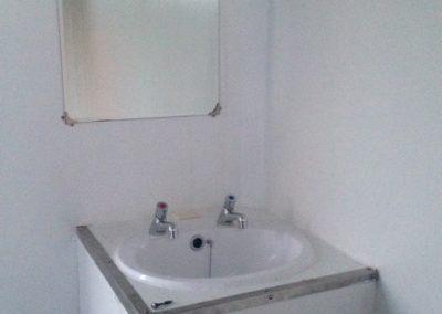 Large Standard Blue Mobile Toilet Unit 5