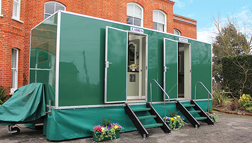 Mobile Luxury Toilet Hire Facilities Available for Weddings, Parties, Festivals, Events and Special Occasions.