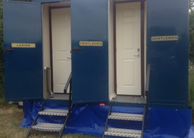 Medium Standard Blue Mobile Toilet 3