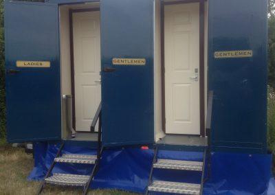 Medium Standard Blue Mobile Toilet 3
