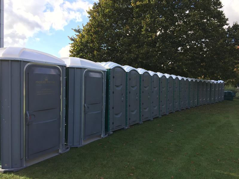 Single Chemical Portable Toilet Unit