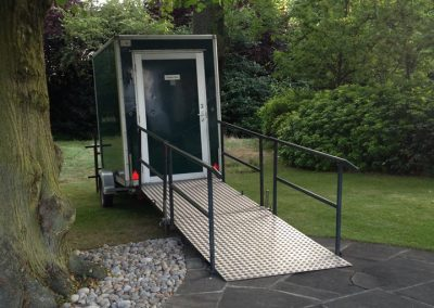 Luxury Mobile Disabled Toilet Unit