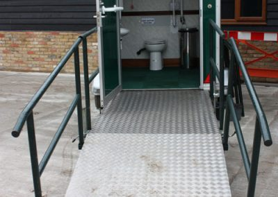 Luxury Mobile Disabled Toilet Interior 2