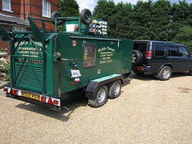 Mobile Generator Hire
