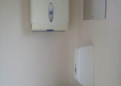 Large Standard Blue Mobile Toilet Unit
